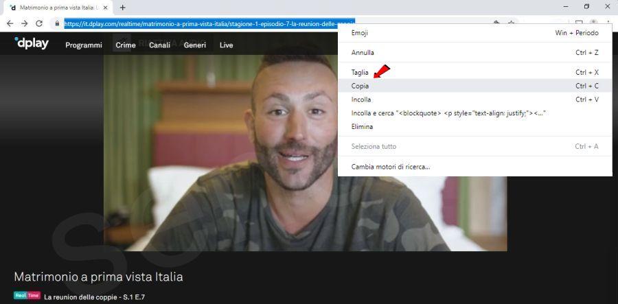 scaricare streaming video da Dplay Plus